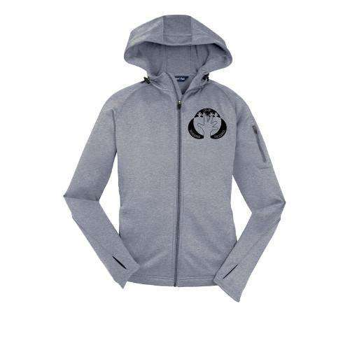 Woodland Co-op Preschool Sport-Tek® Ladies Tech Fleece Full-Zip Hooded Jacket