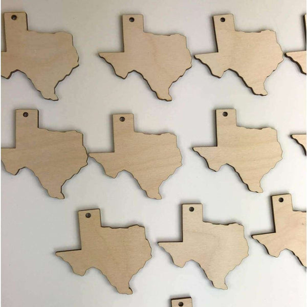 Texas Wooden Cutouts