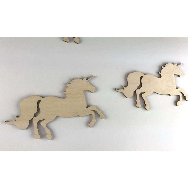 Unicorn Wood Cutouts