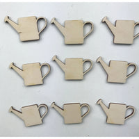 Watering Can Wood Cutouts
