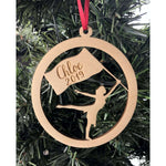 Winter guard Personalized Christmas Ornament