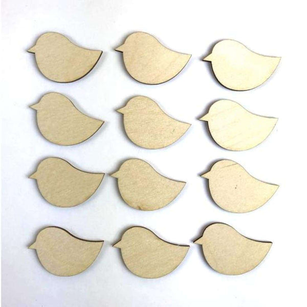 Wood Bird cutouts