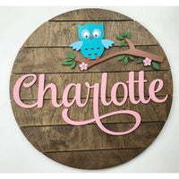 Custom Own Nursery Sign