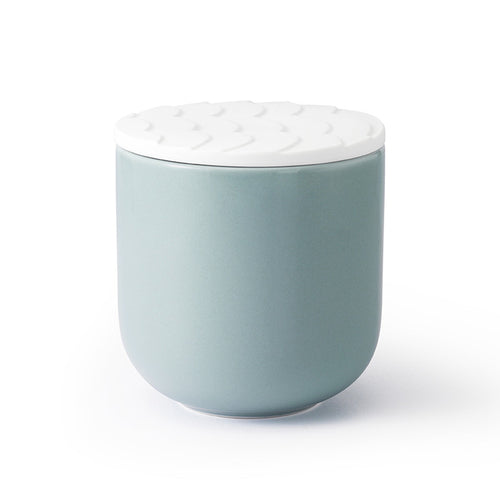 Zen Garden Wave Jar - Sky Blue