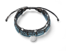 Seoul Bracelet - Silver Pendant with Beads (2 colors available)