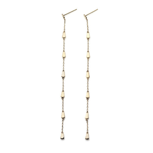 Mini Motif Chain Earrings