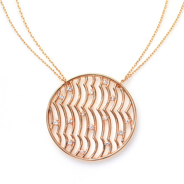 Zen Garden Wave I. Necklace
