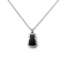 Zazen Bear Plain Motif Intaglio Necklace