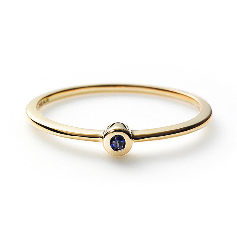 Simple Ring - Sapphire