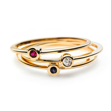Simple Rings - Diamond/Ruby/Sapphire