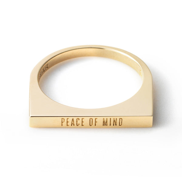 Peace of Mind Posey Ring