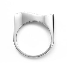 Zen Garden I Diamond Wave Ring - 14K White Gold