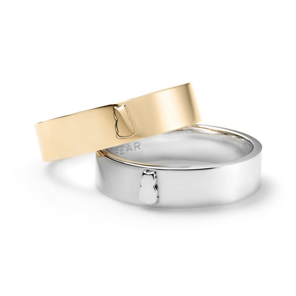 Plain Motif Ring (Sterling Silver or 14k Gold)