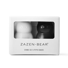 Zazen Bear Ceramic Salt & Pepper Shakers
