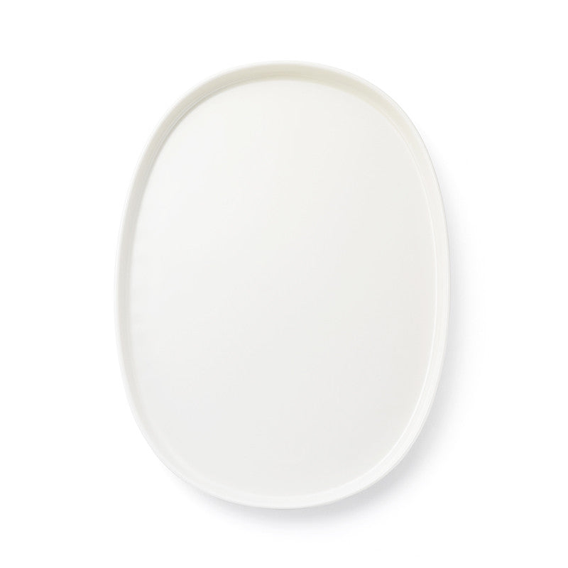 Ceramic Layered Tray Oval Large