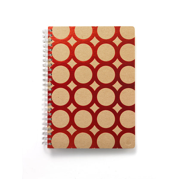 Spiral Sketchbook- Red