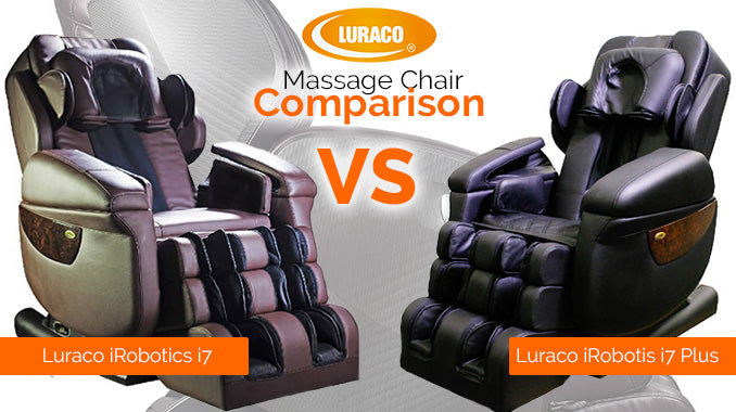 Luraco iRobotics i7 Vs. Luraco iRobotics i7 PLUS Massage Chair