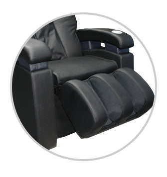 Luraco Sofy Massage Chair calf rollers
