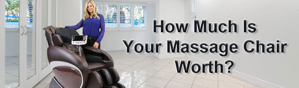 how much is your massage chair worth