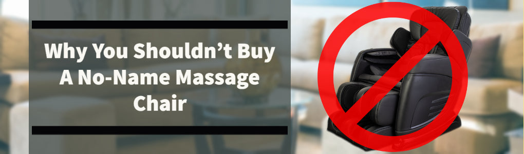 dangers of no name massage chairs