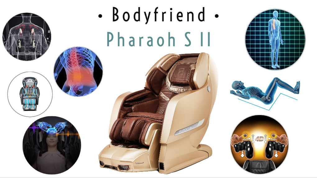 bodyfriend pharaoh s ii massage chair feature set