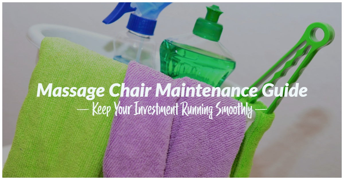massage chair maintenance guide