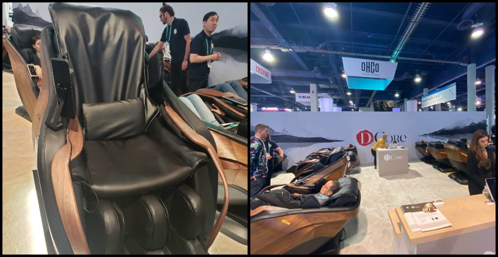d.core massage chairs ces 2020