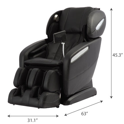osaki maxim massage chair dimensions