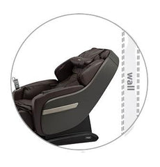 space saving massage chair