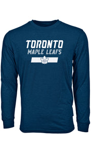 Men's Toronto Maple Leafs Undisputed Oscar Long Sleeves Wordmark Grey T Shirt - Bleacher Bum Collectibles, Toronto Blue Jays, NHL , MLB, Toronto Maple Leafs, Hat, Cap, Jersey, Hoodie, T Shirt, NFL, NBA, Toronto Raptors