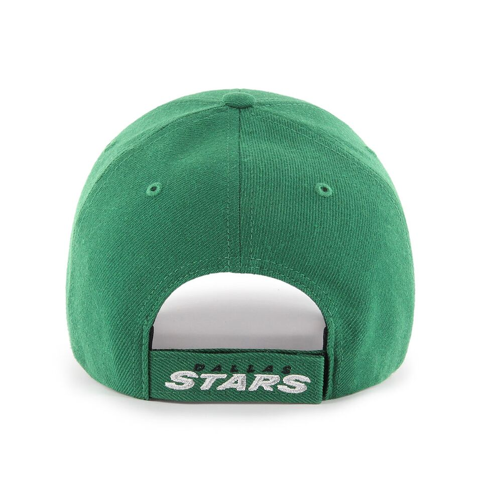 new styles 8e643 b99ab ... Dallas Stars  47 NHL MVP Structured Adjustable Strap One Size Fits Most  Green Hat Cap