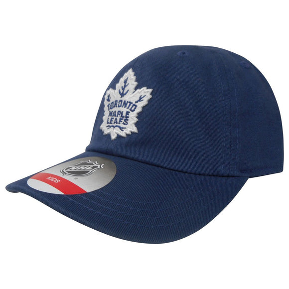 Toronto Maple Leafs Team Slouch Toddler Adjustable Buckle Hat - Ages 2 to 4 - Bleacher Bum Collectibles, Toronto Blue Jays, NHL , MLB, Toronto Maple Leafs, Hat, Cap, Jersey, Hoodie, T Shirt, NFL, NBA, Toronto Raptors