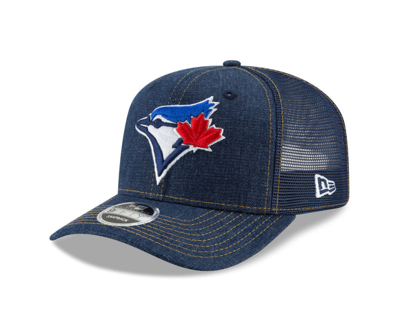 New Era Toronto Blue Jays MLB 9Fifty Denim Stitched Duo Original Snapback Adjustable Hat