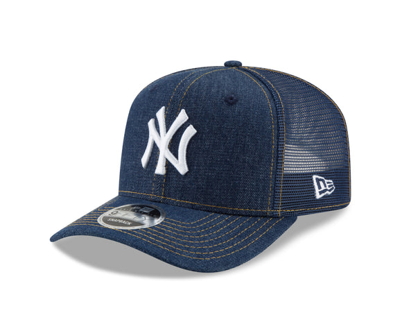 New Era New York Yankees MLB 9Fifty Denim Stitched Duo Original Snapback Adjustable Hat - Bleacher Bum Collectibles, Toronto Blue Jays, NHL , MLB, Toronto Maple Leafs, Hat, Cap, Jersey, Hoodie, T Shirt, NFL, NBA, Toronto Raptors