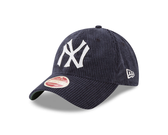 New Era New York Yankees MLB Historic 9Twenty Cord Classic Adjustable Hat