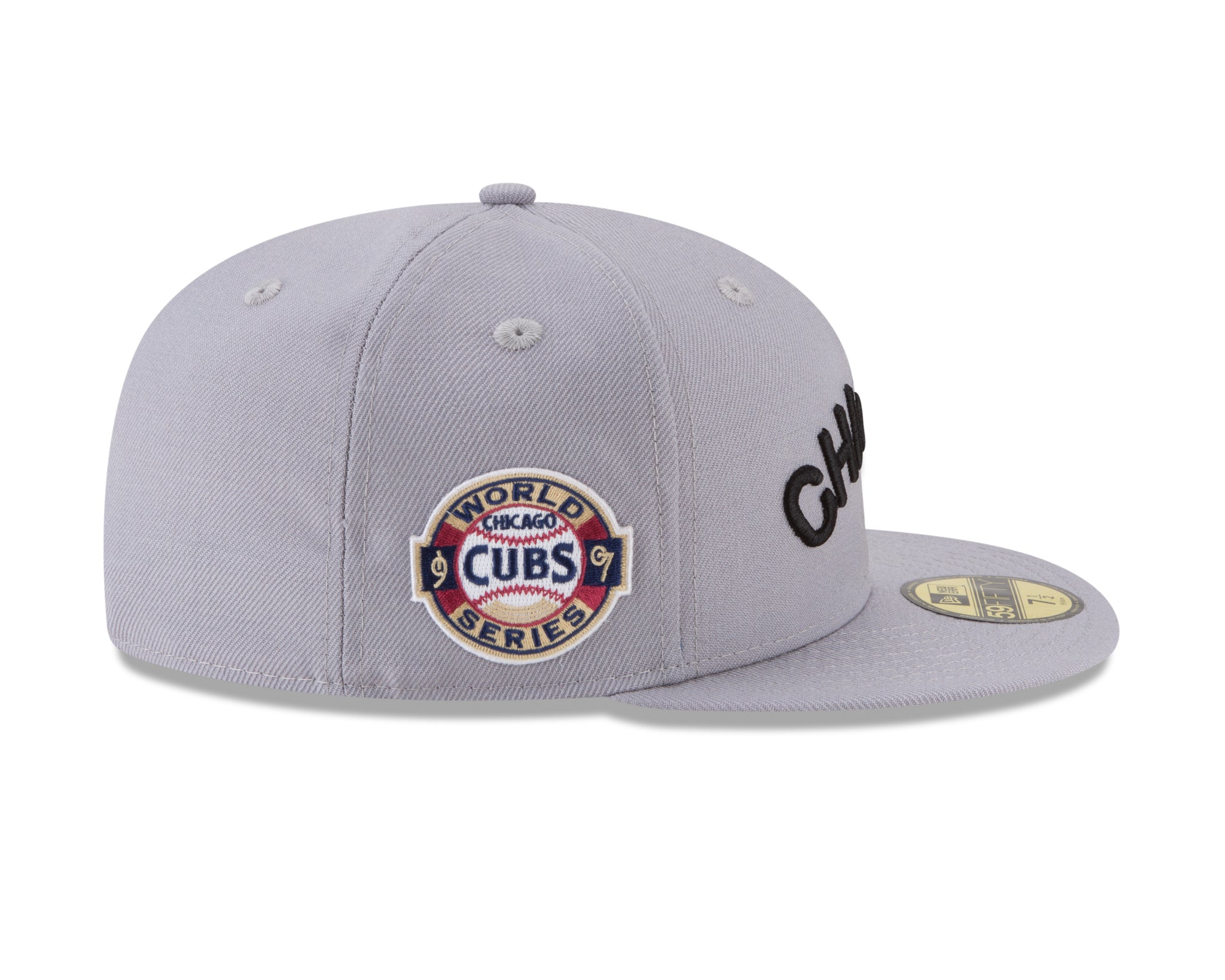 Men's Chicago Cubs 1907 World Series Side Patch 59fifty