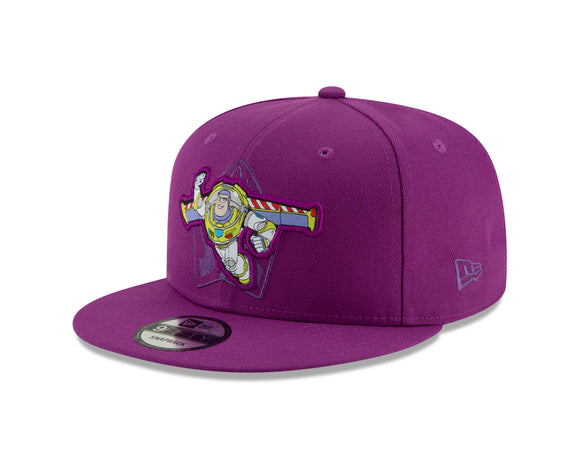 Kids Disney Pixar's Toy Story Buzz Lightyear Purple 9Fifty Snapback Cap Hat Movie Film - Multiple Sizes - Bleacher Bum Collectibles, Toronto Blue Jays, NHL , MLB, Toronto Maple Leafs, Hat, Cap, Jersey, Hoodie, T Shirt, NFL, NBA, Toronto Raptors