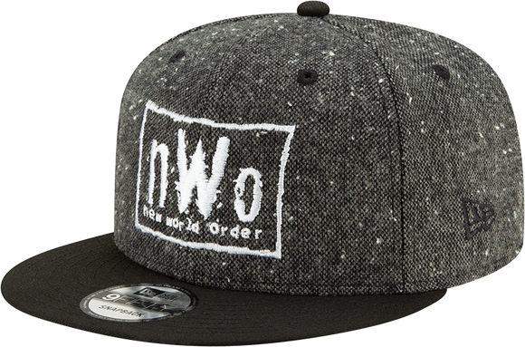 NWO New World Order WWE Wrestling New Era 9Fifty Adjustable Snapback Tweed Hat Cap