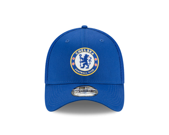 Men's Team Chelsea Football Club New Era Royal Spacer Mesh 39thirty Hat - Multiple Sizes - Bleacher Bum Collectibles, Toronto Blue Jays, NHL , MLB, Toronto Maple Leafs, Hat, Cap, Jersey, Hoodie, T Shirt, NFL, NBA, Toronto Raptors