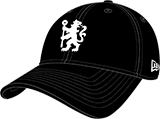 Men's New Era Black Team Chelsea Football Club Structured 9forty Adjustable Hat - Bleacher Bum Collectibles, Toronto Blue Jays, NHL , MLB, Toronto Maple Leafs, Hat, Cap, Jersey, Hoodie, T Shirt, NFL, NBA, Toronto Raptors