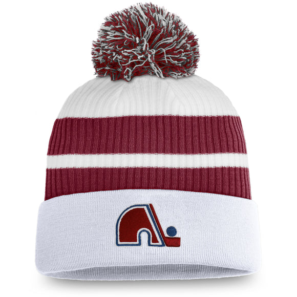 Men's Colorado Avalanche Fanatics Branded Special Edition Pom Cuffed Toque Knit Hat