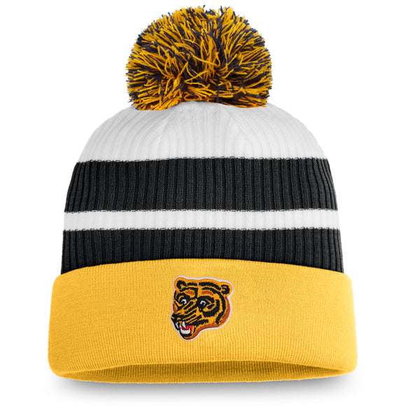 Men's Boston Bruins Fanatics Branded Special Edition Pom Cuffed Toque Knit Hat