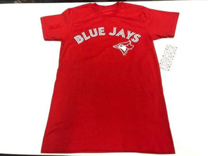 Men's Toronto Blue Jays MLB Baseball Alternate Red Round Neck T Shirt - Bleacher Bum Collectibles, Toronto Blue Jays, NHL , MLB, Toronto Maple Leafs, Hat, Cap, Jersey, Hoodie, T Shirt, NFL, NBA, Toronto Raptors