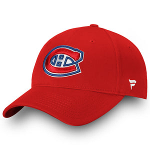Men's Montreal Canadiens Basic Fan Structured Adjustable Strap One Size Fits Most Hat Cap - Bleacher Bum Collectibles, Toronto Blue Jays, NHL , MLB, Toronto Maple Leafs, Hat, Cap, Jersey, Hoodie, T Shirt, NFL, NBA, Toronto Raptors