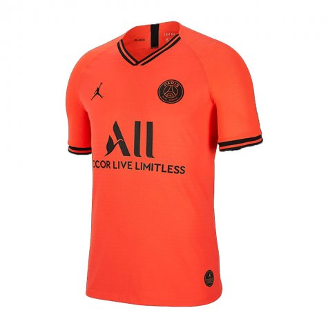 Men's 2019/20 Team Paris Saint Germain PSG Football Club Away Orange Stadium Official Nike Jersey - Bleacher Bum Collectibles, Toronto Blue Jays, NHL , MLB, Toronto Maple Leafs, Hat, Cap, Jersey, Hoodie, T Shirt, NFL, NBA, Toronto Raptors