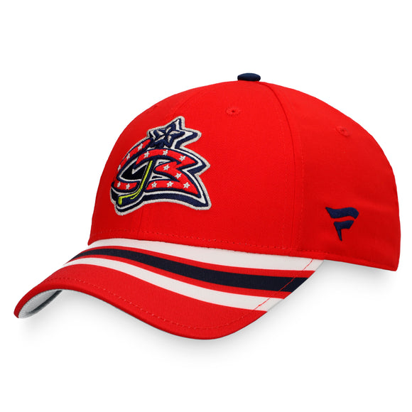 Men's Columbus Blue Jackets Fanatics Branded NHL Hockey Special Edition Adjustable Hat
