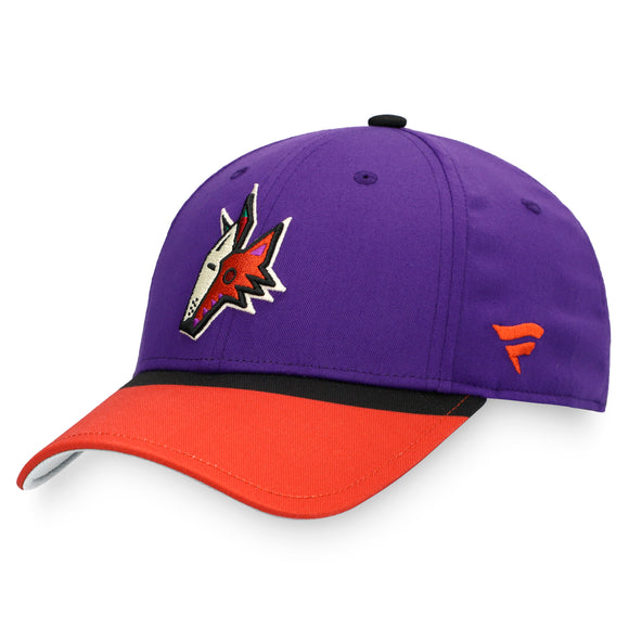 Men's Arizona Coyotes Fanatics Branded NHL Hockey Special Edition Adjustable Hat