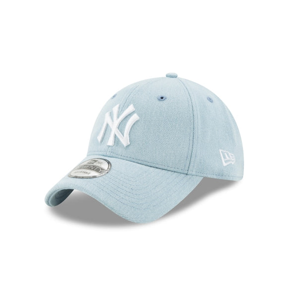 Men's New York Yankees New Era Light Denim 9TWENTY Core Classic Twill Adjustable Hat