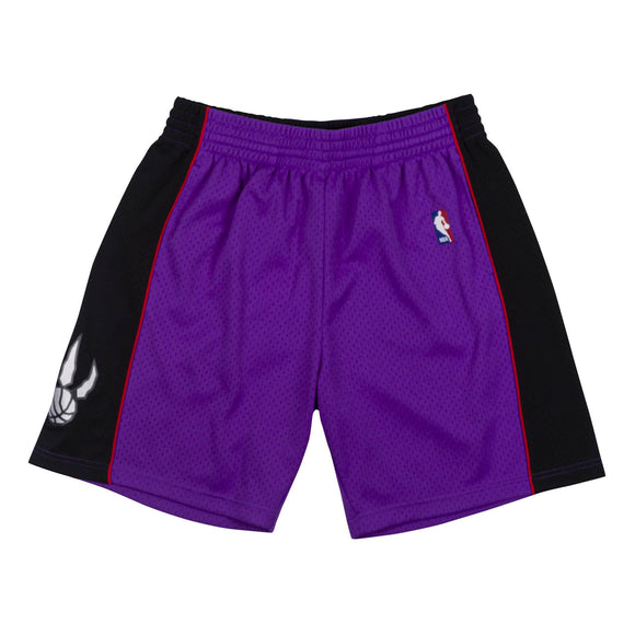 Men's Toronto Raptors Mitchell & Ness Purple 1999-00 Hardwood Classics Swingman Shorts
