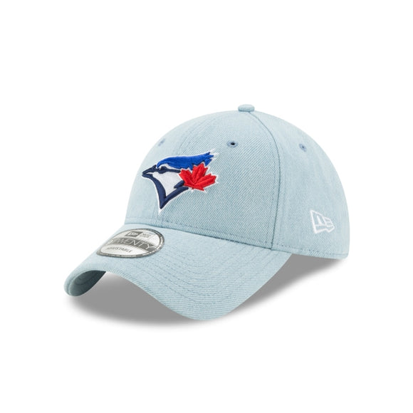 Men's Toronto Blue Jays New Era Light Denim 9TWENTY Core Classic Twill Adjustable Hat